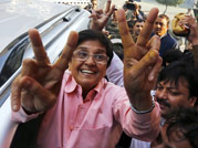 Kiran Bedi accuses AAP workers of threatening, offering money and liquor to voters