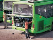 Commuters stranded as DTC drivers go on strike