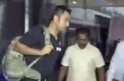 Dhoni, 7 others arrive in Bangladesh