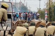 Jammu: Protesters defy curfew orders