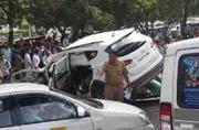 Shootout at Gurgaon's MG road, 4 injured