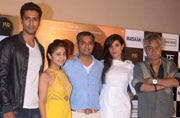 Elevator pitch with the cast of Masaan