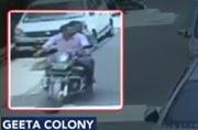 New Delhi: Vehicle thieves caught on CCTV
