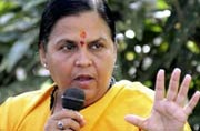 Uma Bharti expresses her fears about Vyapam scam