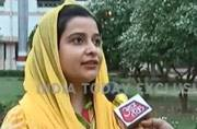 Caught on camera: SP MLA's daughter takes on cop