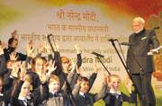 Modi in Ireland takes a dig at secularists in India