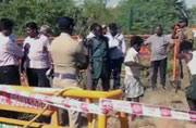 Skeletal remains wrapped in a rotten bag found in Tamil Nadu