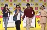 Faisal Khan woos the audience with his moves on Kajrare