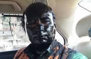 Ink thrown on Kasuri's book launch organiser Sudheendra Kulkarni