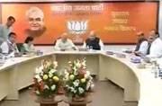 BJP board meeting post Bihar loss, Shatrughan meets Nitish, more