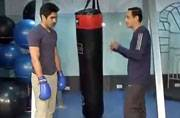 Vijender Singh pow wows with India Today
