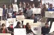 Protest against the release of Juvenile rapist started in Jantar Mantar