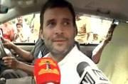Rahul Gandhi visits rain-ravaged Chennai