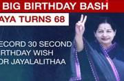 Jayalalithaa's big birthday bash