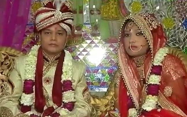 Marriage With A Difference Muslim Parents Marry Off Hindu -9900