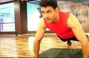 Watch video: Divyanka Tripathi's fiancé Vivek Dahiya reveals the secret of his fit body
