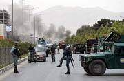 Taliban launch rocket attack on new parliament building in Kabul