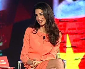 India Today Conclave: Lawyer Amal Clooney on sedition and freedom of speech