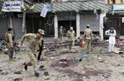Caught on camera: First images of Jalalabad terror attack