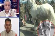 Wasn't present when the horse was wounded says MLA Ganesh Joshi, India Today impact, more