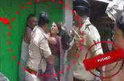 Caught on camera: Cops manhandle a woman in Patna
