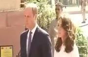 Royal couple reaches Delhi, visits India Gate