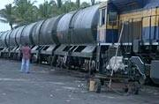 Train carrying water reaches draught hit Latur