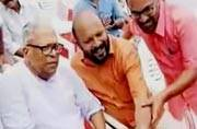 Selfie of the Day: 90-year-old Achuthanandan says cheese!