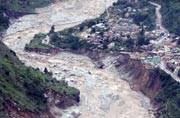 Cloudburst in Uttarakhand, national highway to Badrinath washed away