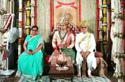 Royally hitched: The Mysore royal wedding was a grand affair