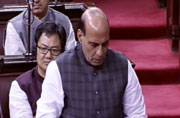 Rajnath Singh: militants to be dealt with strictly, but with maximum restraint from security forces