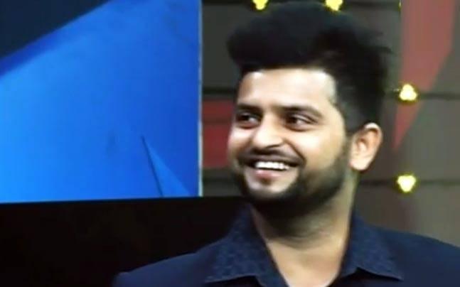 Suresh Raina Shows Off His Singing Skills On News Wiz Indiatoday