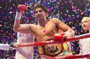 This is how Vijender Singh won his maiden professional title
