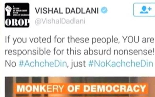 Vishal Dadlani in trouble over tweet, booked in various cases ...