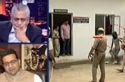 UP policemen caught sleeping on duty, Gujarat temples shun Dalits, more
