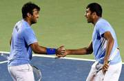 Rohan Bopanna and Leander Paes