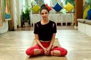 Every gym junkie will love Ira Trivedi's 10-minute yoga routine