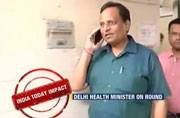 India Today impact: Delhi Health Minister forced to return to city after abandonment exposed