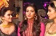 When Ganpati came visiting Kumkum Bhagya and Mouni, Asha, Amruta performed