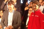 Fernando Morientes and Rafael Nadal