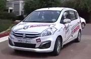The Maruti Suzuki Ertiga heads towards Hampi