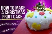 Watch: Bake this decorative Christmas Fruit Cake from your dreams
