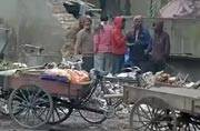Garbage piles up as East Delhi sanitation workers continue strike