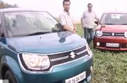 Maruti Suzuki Ignis first drive review, different variants compared