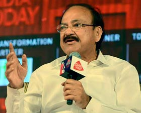 Union Minister M. Venkaiah Naidu at India Today Conclave South