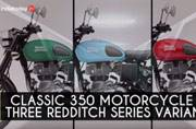 Royal Enfield unveil new Redditch series of motorcycles