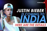 Watch: All the details about Justin Bieber's India concert