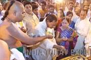He prays, you pay: Telangana CM KCR donates Rs 5 crore gold ornaments to Tirupati temple