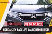 Honda launches City sedan with an image makeover