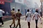 Kerala: Fire in market, many shops gutted